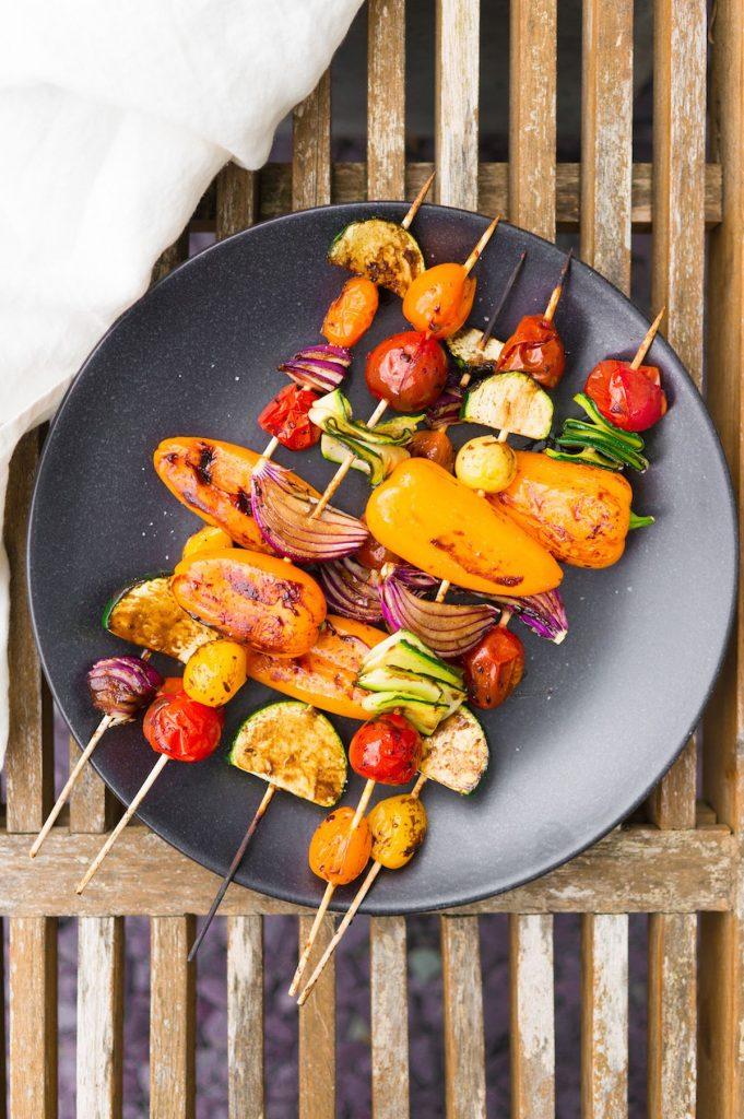 de állerlekkerste barbecue groentespiesjes