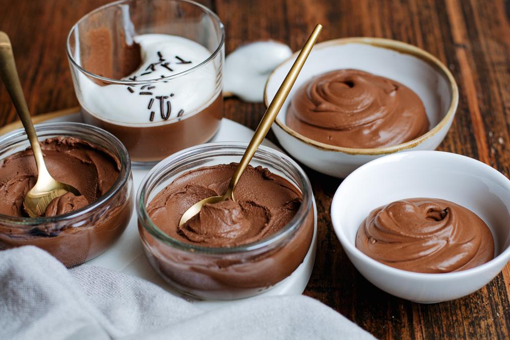 Gezonder chocolade toetje